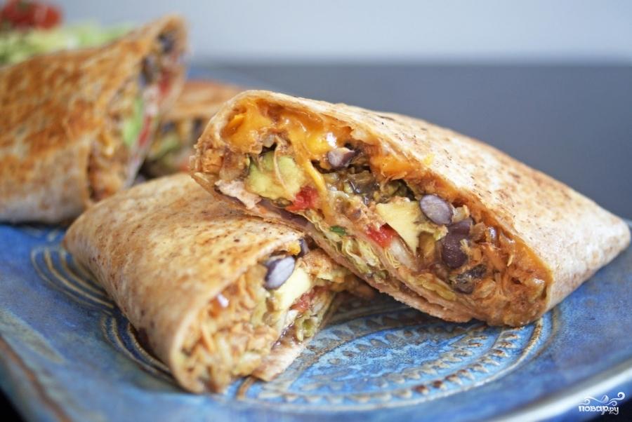 бурито мексиканский рецепт с фото
