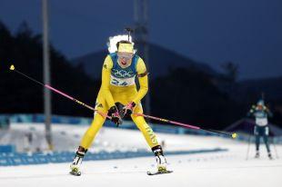 Шведская биатлонистка Эберг выиграла индивидуальную гонку на 15 км на ОИ