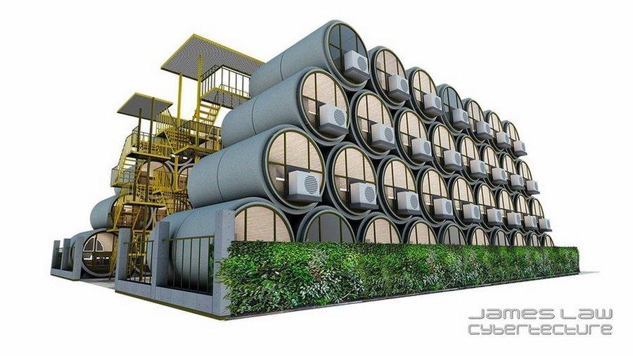 Архитектор Джеймс Лоу и его компактные дома