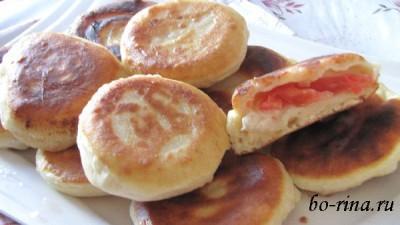 Пирожки «Бомбочки» из теста на кефире