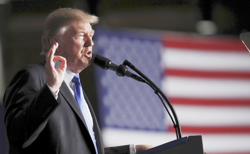 Трамп опять становится голубем мира