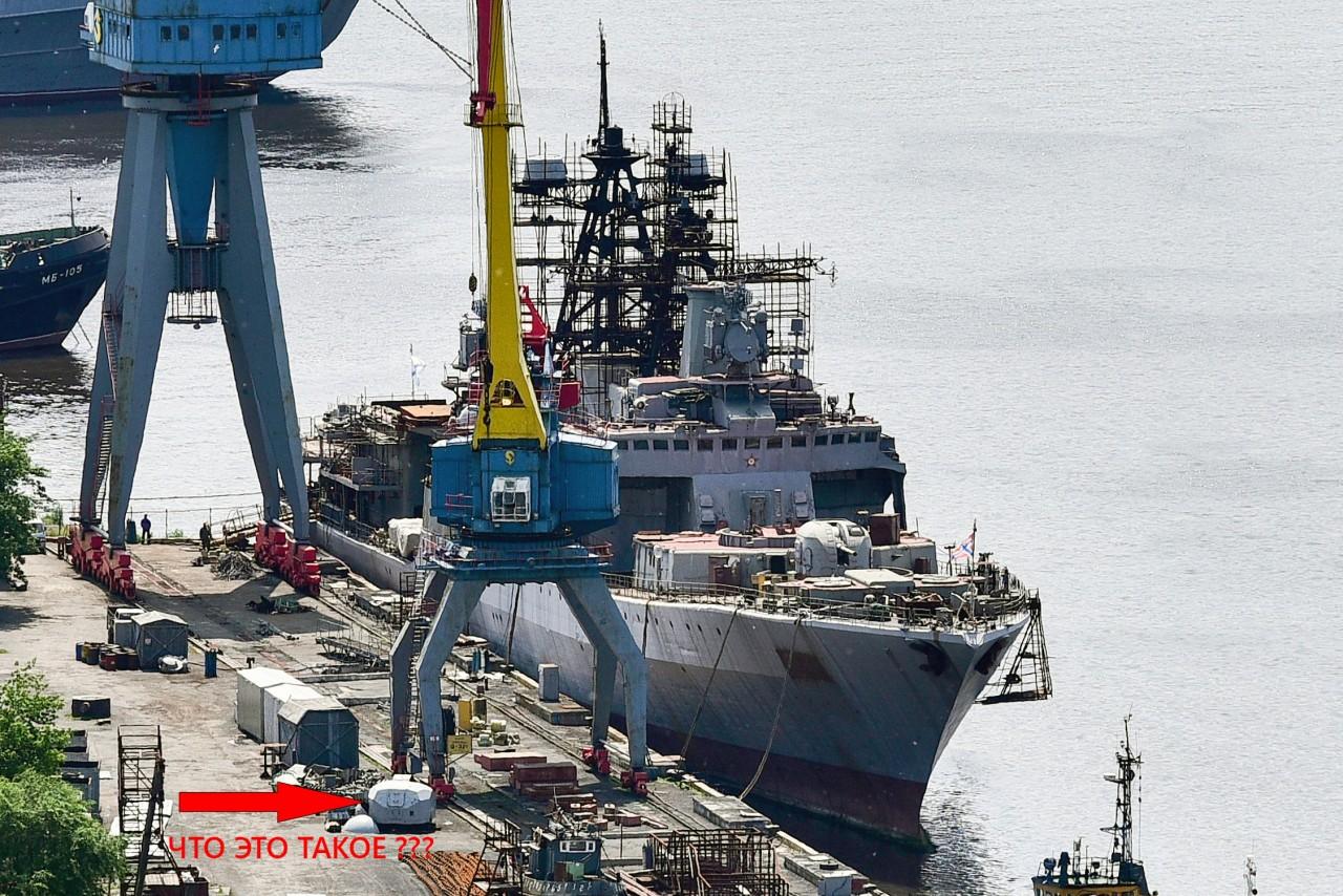 """При модернизации на БПК """"Маршал Шапошников"""" установят два модуля УВПУ 3С-14"""