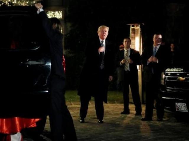 Дональд Трамп пришел навечеринку вкостюме Трампа вНью-Йорке