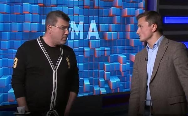 В эфире украинского телеканала: Украина скатывается в натуральный фашизм