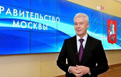 Собянин в прямом эфире ответит на вопросы москвичей