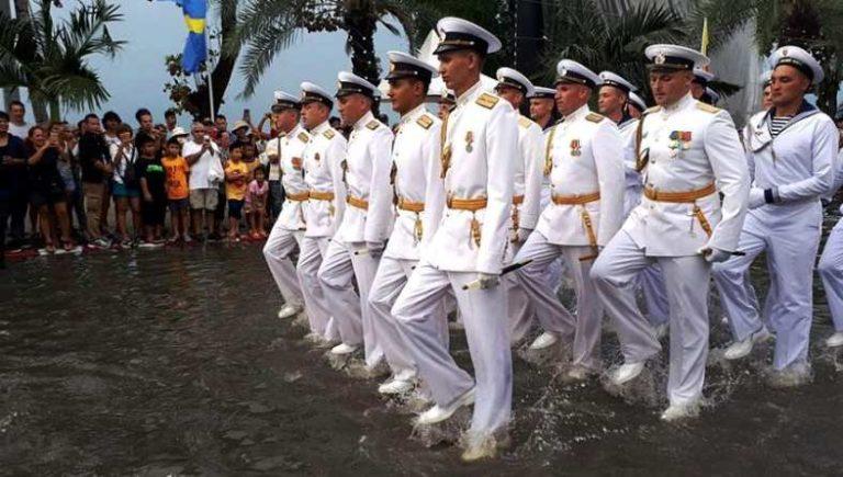 Офицеры ВМС США против офицеров ВМФ России в Паттайи 2017 год