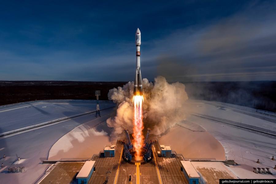 Космодром Восточный: запуск …
