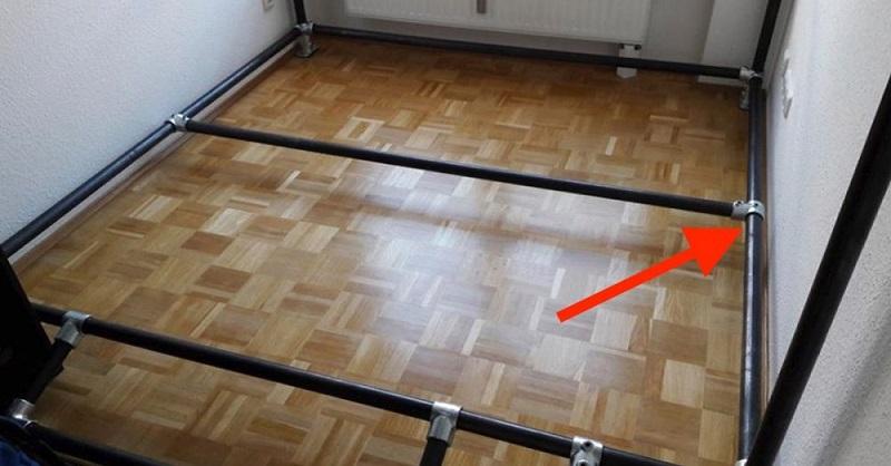 Преображение тесной комнатки всего из 2-х квадратных метров