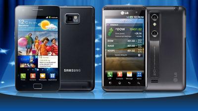 LG обвинила Samsung в краже технологии отслеживания взгляда