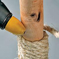 Плетение на ножке. Шаг 8