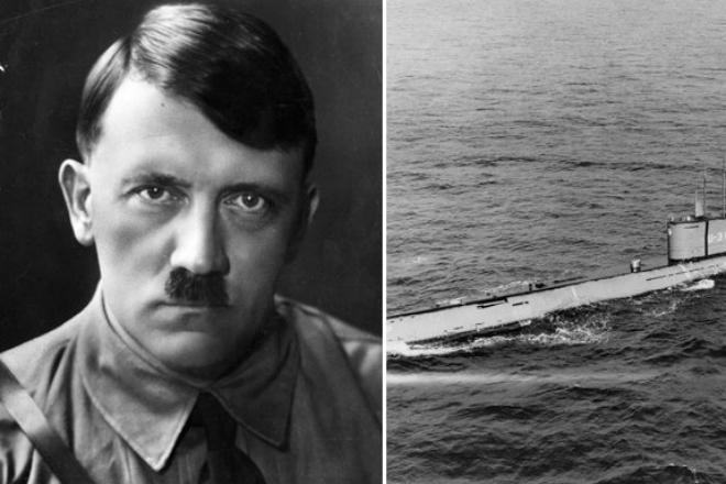 Гитлер скрылся в Южной Америке: ученые нашли секретную золотую подлодку