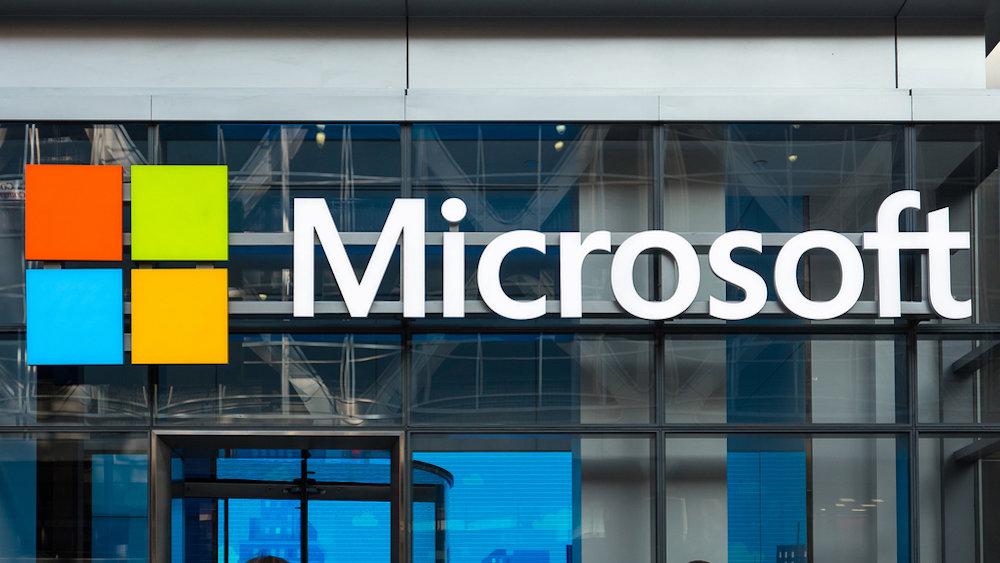 Microsoftзаинтриговала изображением необычного смартфона