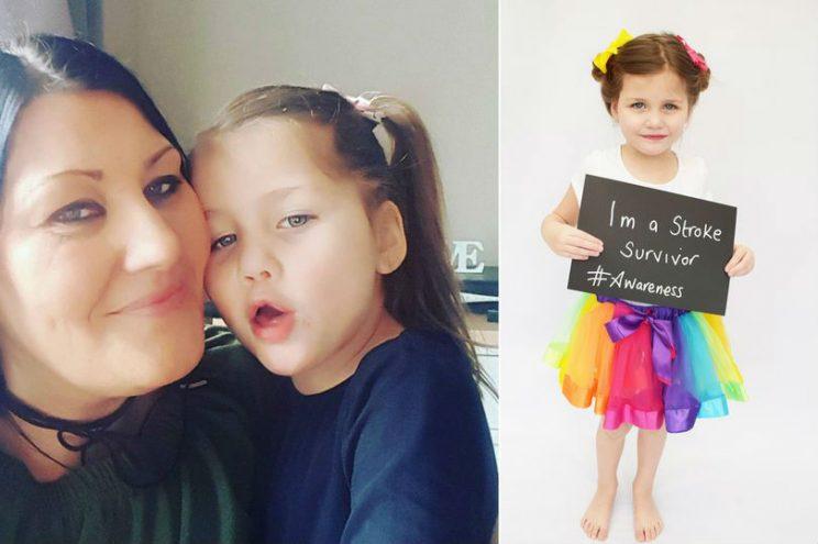 3-летняя девочка перенесла инсульт из-за обычной ветрянки