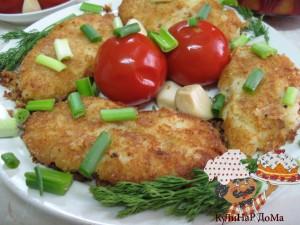 Рецепт котлет картофельных « Вкуууснота!»