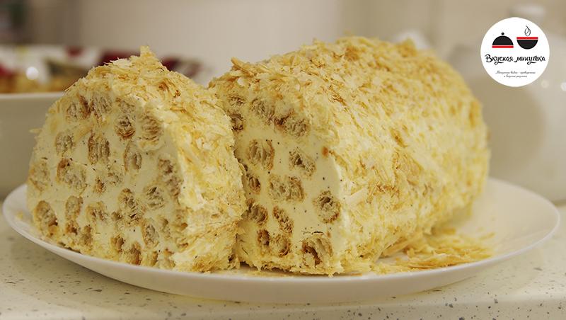 Торт ПОЛЕНО - самый простой рецепт!