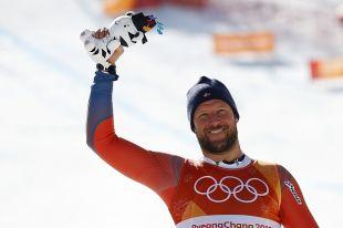 Норвежец Аксель Лунд Свиндаль завоевал «золото» в скоростном спуске на ОИ
