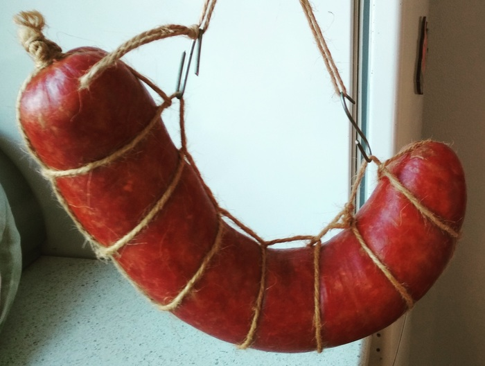 Советская колбаса, о которой я слышал и вот теперь попробовал