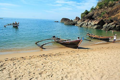 Индийские каникулы.Палолем.Пляж бабочек
