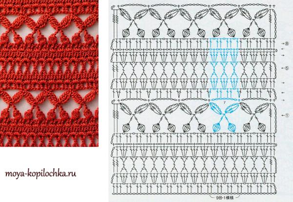 Самые сложные схемы вязания крючком 7