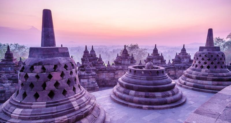 Боробудур в Индонезии: храм,…