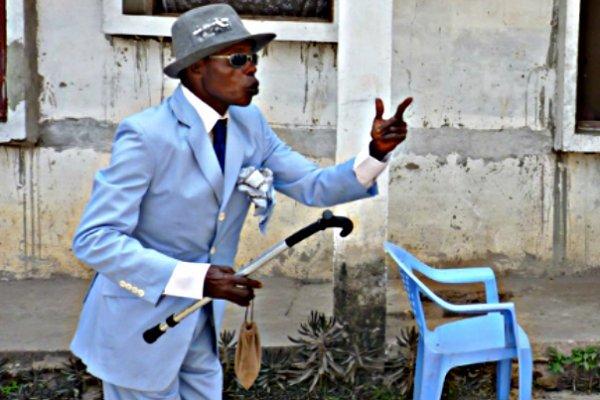 Протест «элегантных людей» Конго