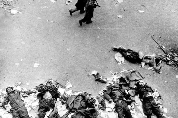 Растерзанные тела защитников горкома Венгерской компартии даже не убирали с улицы