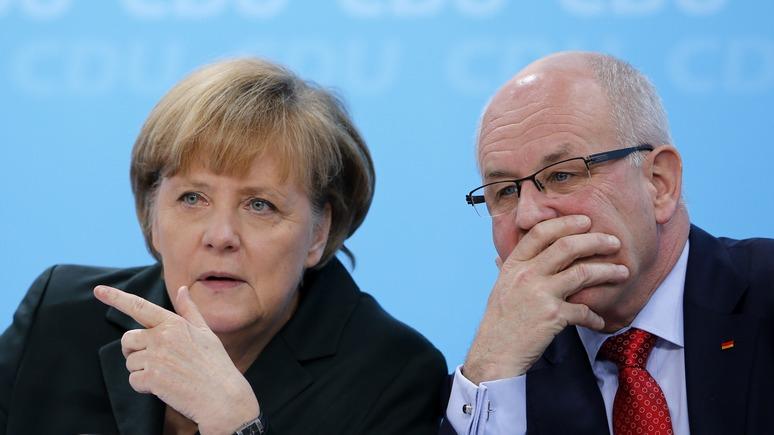 Соратник Ангелы Меркель предлагает противостоять РФ с позиции силы