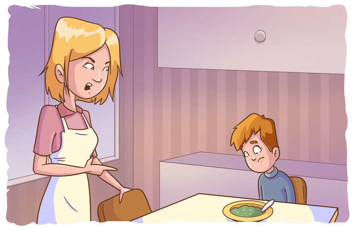 12фраз родителей, которые несамым лучшим образом отражаются нажизни ребенка