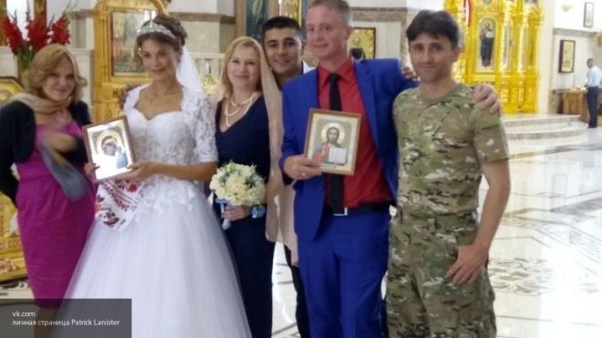 Донбасс. Свадебные колокола. Совет да любовь!