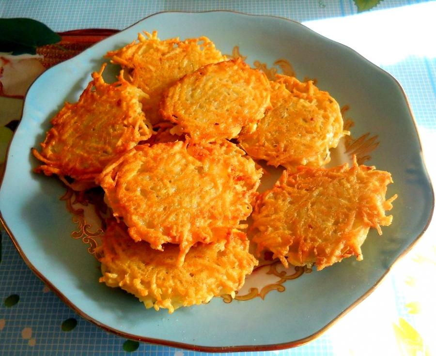 Приготовление драников из картофеля рецепт с фото пошагово