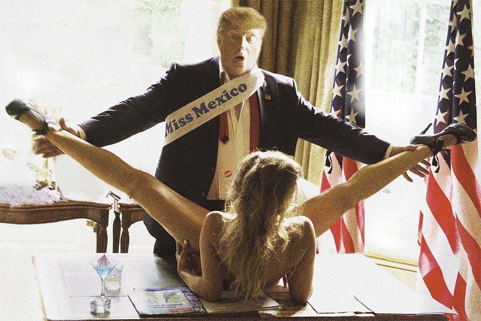 Дональду Трампу хотелось бы, чтобы этих фото не было