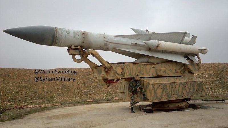 ВВС Израиля нанесли удар по позиции зенитной ракетной системы С-200 в Сирии