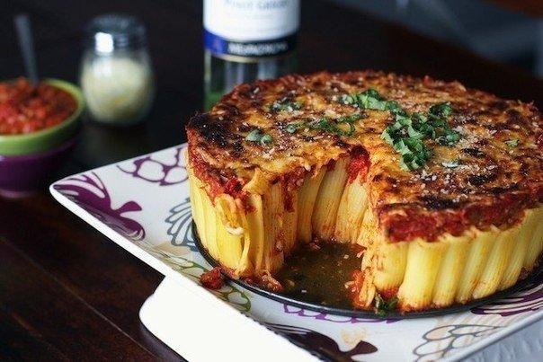 Паста-пирог - вкуснотища