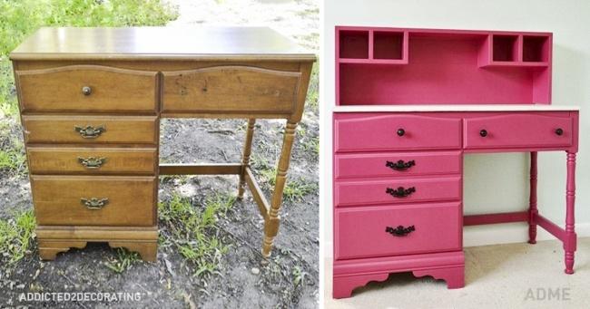 15 крутых идей для переделки старой мебели. теперь тебе не нужно покупать новую…