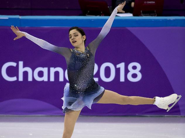 Установившая рекорд Медведева отбила грязную провокацию на Играх