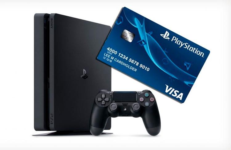 Банковская карта Sony PlaySt…