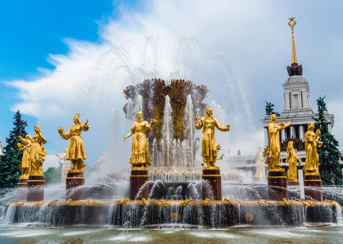 «Дружба народов СССР» - яркий памятник архитектуры советской эпохи
