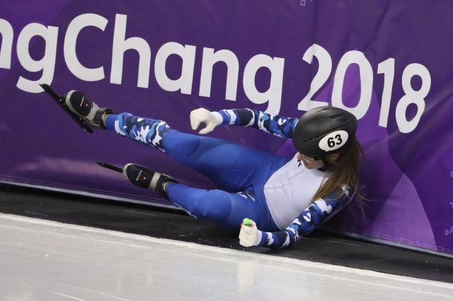 Шорт-трекистка Ефременкова не прошла квалификацию на дистанции 1500 м на ОИ