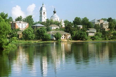 Старинный русский город Мышкин