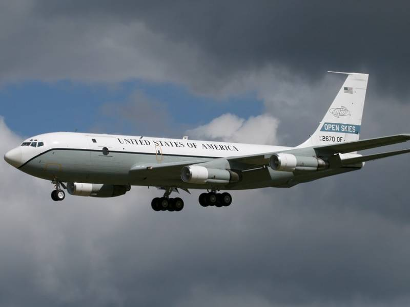 Американский самолет провел разведку в глубине территории России