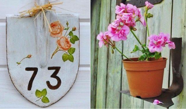 Даём вторую жизнь старым садовым инструментам!