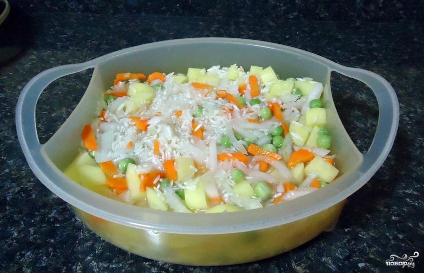 Рецепты рис в пароварке с фото