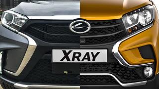 Китайцы КОПИРУЮТ...Lada XRay