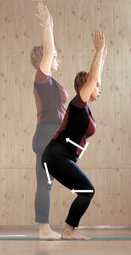 5 минут фитнеса: йога для похудения