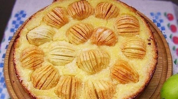 """Два быстрых яблочный  """"сухих""""  пирога"""