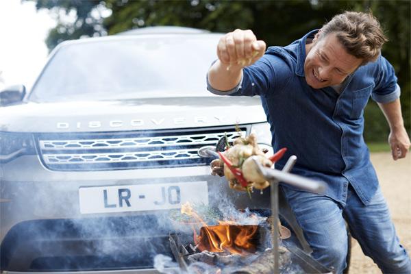 Кулинарная версия Land Rover для Джейми Оливера