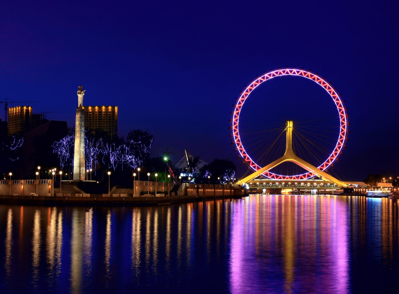 Колесо Tianjin Eye, Тяньцзинь