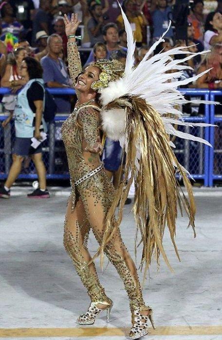 Бразильский карнавал 2017 в Рио-де-Жанейро