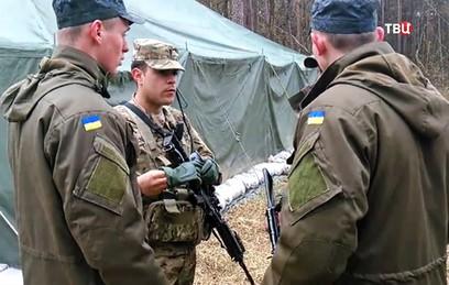 СМИ: американцы готовят украинских солдат на секретном полигоне