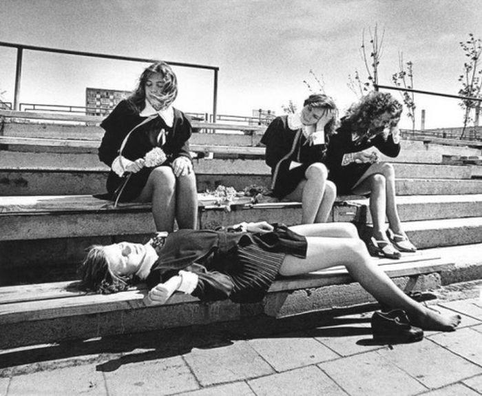 Последний звонок, 1970–е годы, Клайпеда, Литовская ССР было, история, фото